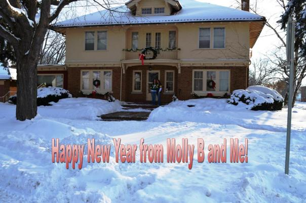 Happy New Year from Molly B and Me
