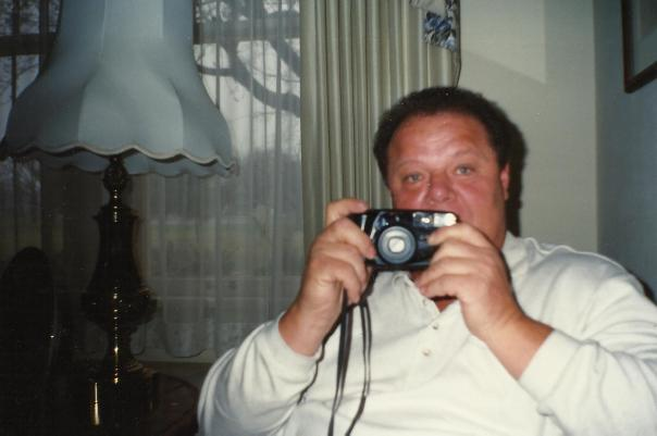 Dad behind the camera