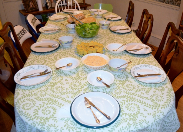 Prepare a nice table