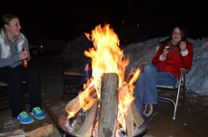 """Thorough once said, """"The fire is the main comfort of the camp, whether in summer or winter, and is about as ample at one season as at another. It is as well for cheerfulness as for warmth and dryness."""" Having spent the better part of a winter evening staring into a fire, I have to say I agree,"""