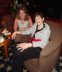 My mother in-law and me on the eve of another Biskupic wedding.