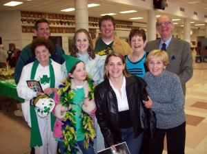 We celebrated St. Patrick's Day 2007 (or St. Cyril Eve) with some of our favorite people.