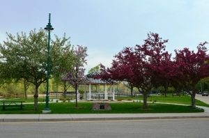 A beautiful spring day in Lutz Park.