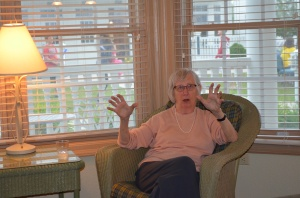 Aunt Pat provided a fascinating oral history of the family.