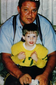 My favorite picture of Charlie and my dad. We loved him good and plenty too.
