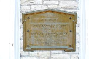 Built in 1918. Interesting fact: Lawrence University is older than Appleton.