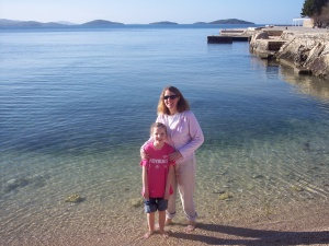 Being the youngest has its advantages. Molly and I tagged along when the Appleton Boychoir went to Croatia in 2006 and got to dip our toes in the Adriatic Sea.