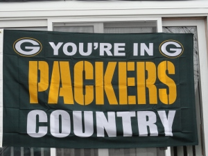 You're in Packers Country