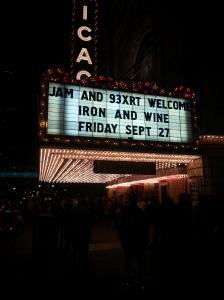 The Chicago Theatre!