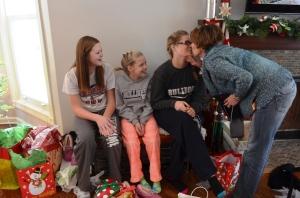 Family Christmas Kostelnik girls