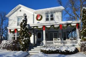Frozen Walk Christmas house