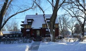 Frozen Walk Connie's house