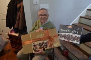Somebody loves chocolate:)