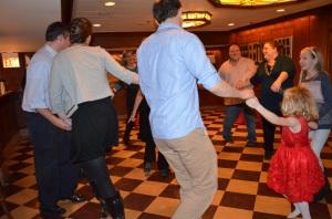 75th birthday circle dance 2