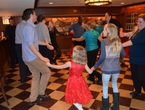 75th birthday circle dance 3