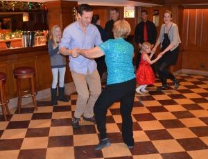 75th birthday circle dance vinnie again