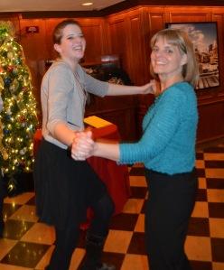75th birthday Kathy and Molly