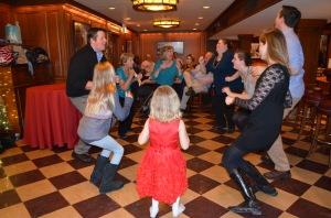 75th birthday the chicken dance