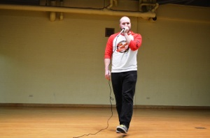 Beat Boxer Peter Anderson wowed everyone with his mad skills.