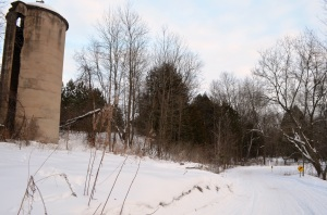 Lonely silo