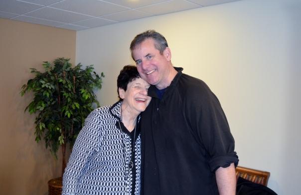 Vince and Grandma Mary Jane
