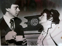 Carl Wenzel played the lead role in this 1961 community theatre production of Angel Street in 1961 and is still an active member of Attic Theatre today.
