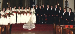 I guess I assumed that all first dates led to monochromatic color schemes, big puffy sleeves and obnoxiously large wedding parties. No? My bad.