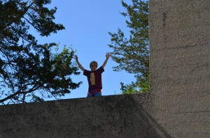 Jack on the water tower