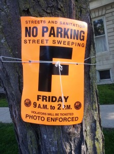 no parking street sweeping