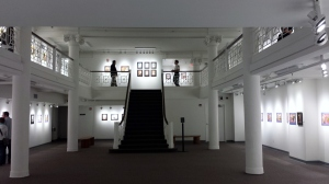 The Moment in Time exhibit