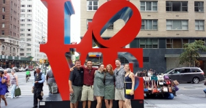 Awwww. We love New York.  We'll see you soon, Big Apple! Love, your friends from Appleton.