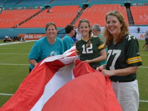 fins up flag