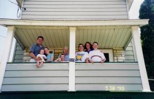 Grandma's front porch
