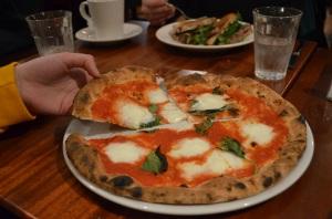 Sheboygan Buffalo Mozzarella pizza