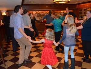 75th birthday circle dance 3