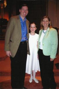 Stve, Cary and Molly First Communion