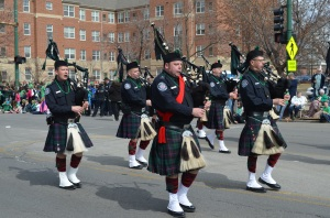 Southside Irish bagpipers