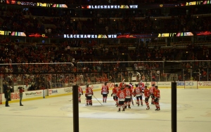 The Blackhawks Win!