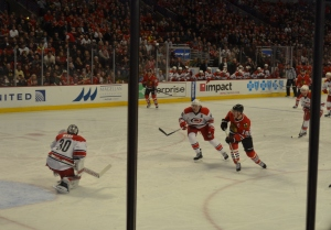 Toews sets up