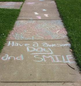 Sidewalk art (2)