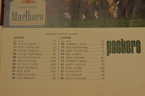 Super Bowl I Packer starters
