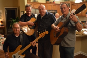 Dick and his band