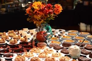 Northshore adult dessert table
