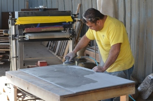 Tony Gonzalez restores chalkboard