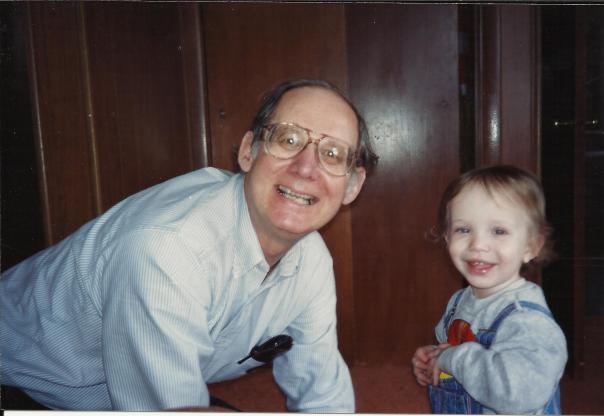 Vinnie and Grandpa Vince