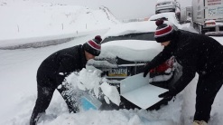 clearing cars