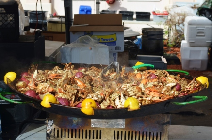 Garlic Crab Boil