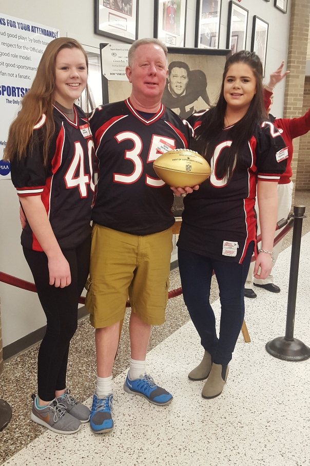 Mike, Rachel and Hannah