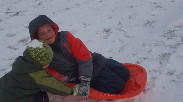 Mason pushing Devon