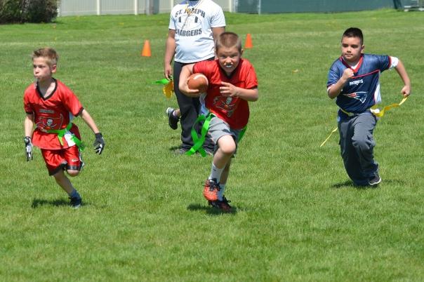 Ben's football game 145